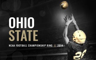 Ohio State 2014 NCAA National Football Championship Ring