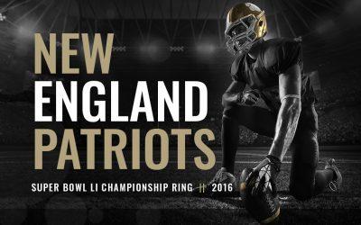 2016 New England Patriots Super Bowl LI Championship Ring
