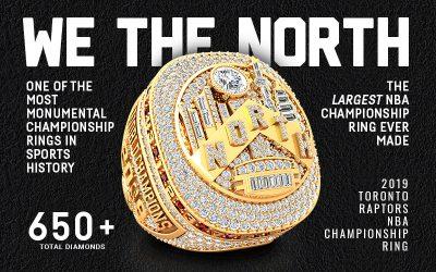 2019 Toronto Raptors NBA Championship Ring
