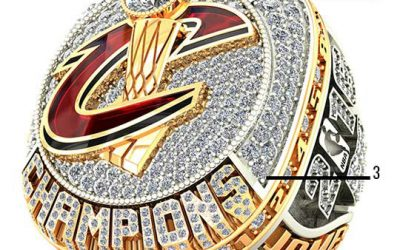 2016 Cleveland Cavaliers NBA Championship Ring