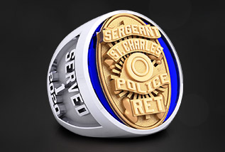 Frontline Championship Ring Package by Baron: Fire, Police, Nurses, S.W.A.T., K9, OPC, State, Regional, College, Healthcare, EMS