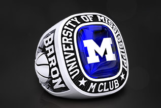 Letterman Championship Ring Package by Baron: Varsity, Class, Fraternity, Sorority, wrestling, weight Lifting, Team