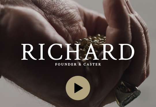Baron® Origins featuring Richard, founder and caster, jewelry manufacturers usa, jewellery manufacturers canada, custom