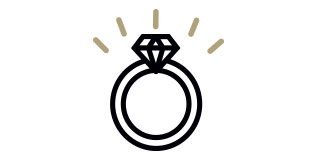 Vector black and gold ring, ring sizing kit, ring size chart, ring size, how to measure ring size, how to determine ring size