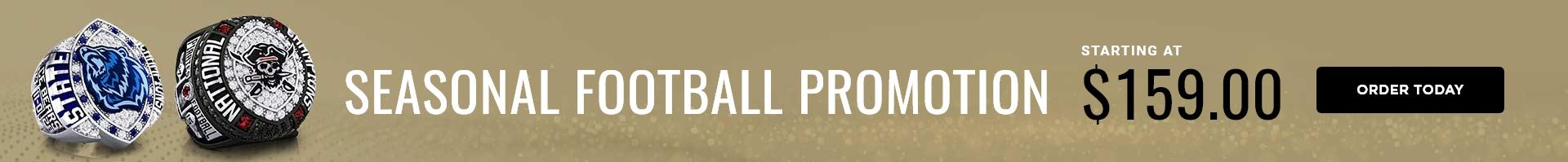 Baron Championship Rings Fall Football Promo