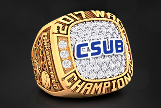 Volleyball Championship Ring Package by Baron: Varsity, Junior Varsity Team