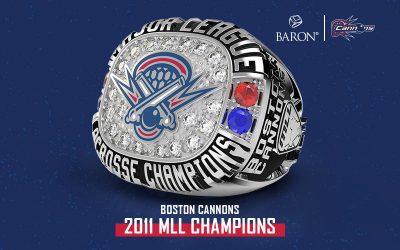 2011 Boston Cannons MLL Championship Ring