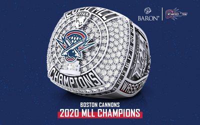 2020 Boston Cannons MLL Championship Ring