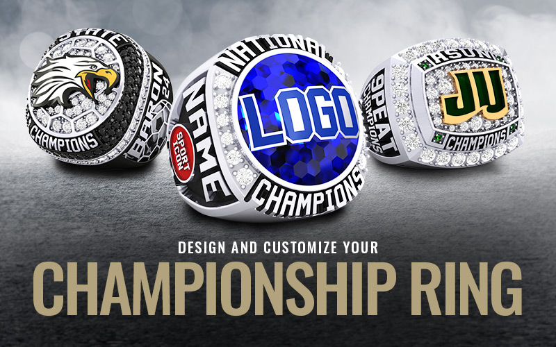 Let Baron® design and customize your Championship Rings