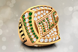 Corporate Championship Ring Package by Baron: Club, Service Award, Safety, Retirement, Sales, Promotions, Corporate Gift