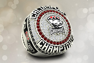 Hockey Championship Ring Package by Baron: AHL, FHL, ECHL, SPHL, ACHA, ice rings, sledge, world, America Hockey Hall Of Fame