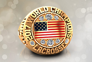 Lacrosse Championship Ring Package by Baron: ECC, Hall Of Fame, State, National, Major League, USA, Canada, Ontario