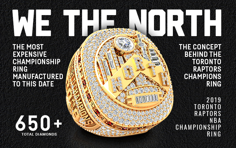 The Concept Behind The Toronto Raptors Championship Ring