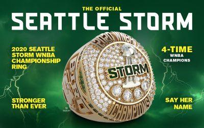 2020 Seattle Storm WNBA Championship Ring