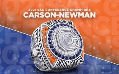 2021 Carson-Newman Men's Basketball SAC Championship Ring